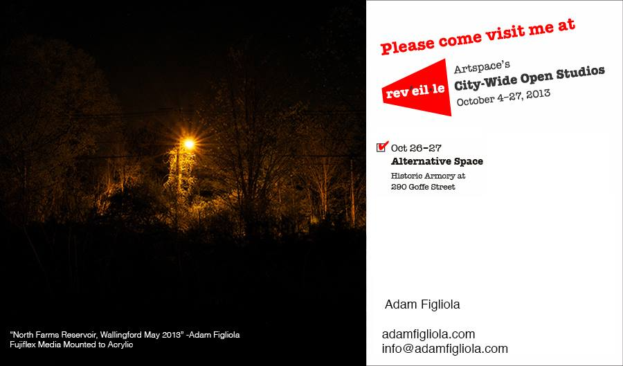 My friend Adam has a show coming up. Click on the picture and see his art.