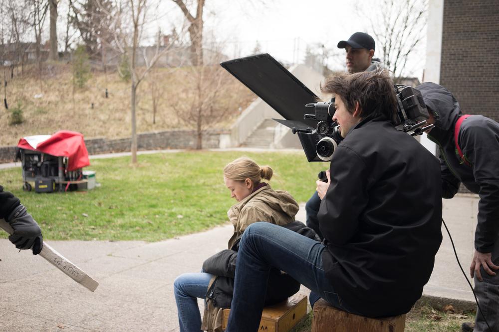 Cassie Williams and Director Jeffrey Zablotny.
