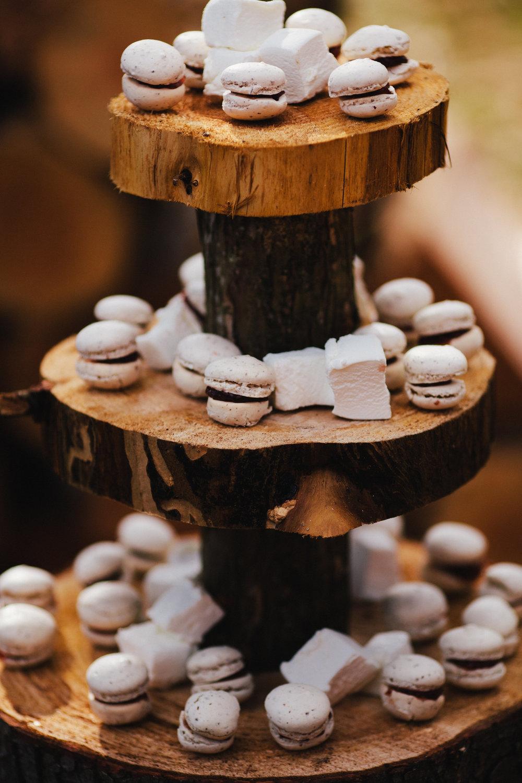 PB&J Macaroons and boozy marshmallows