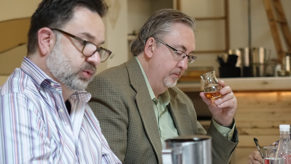 Adam Carmer & Ron Smith - International Whisky Competition