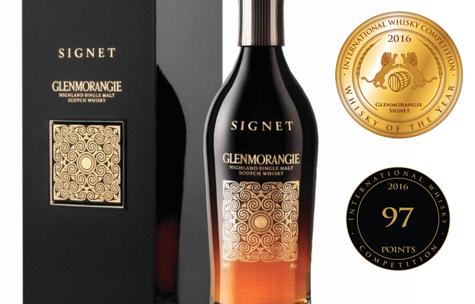 Glenmorangie Signet was awarded Whisky of the Year by the 2016 International Whisky Competition which took place in Chicago, USA.