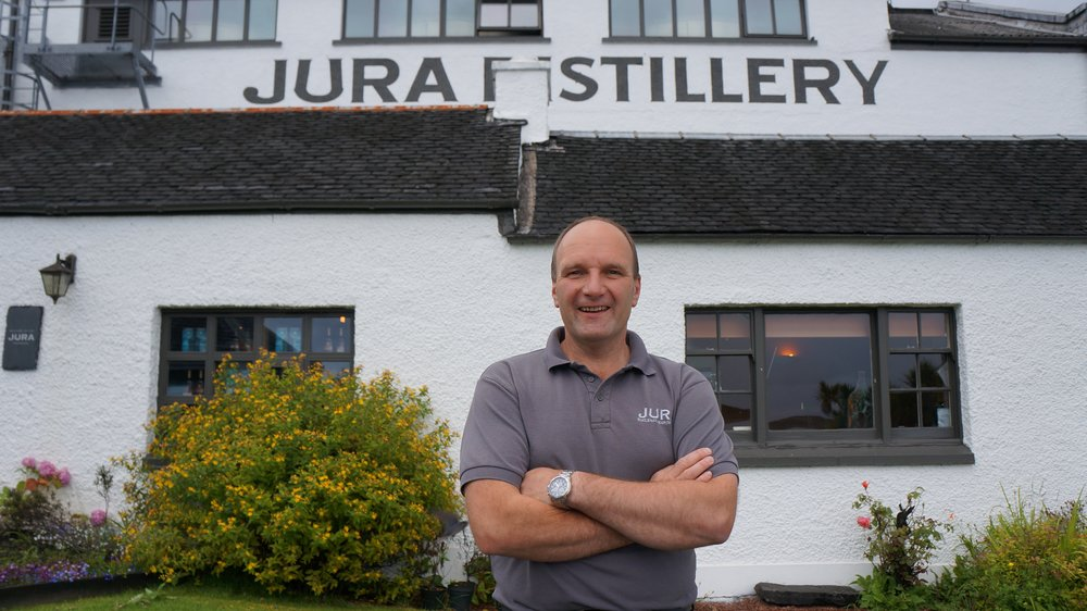 Graham Logan, Distillery Manager, Jura