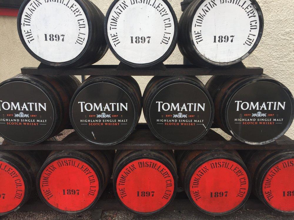 Tomatin Distillery's Casks