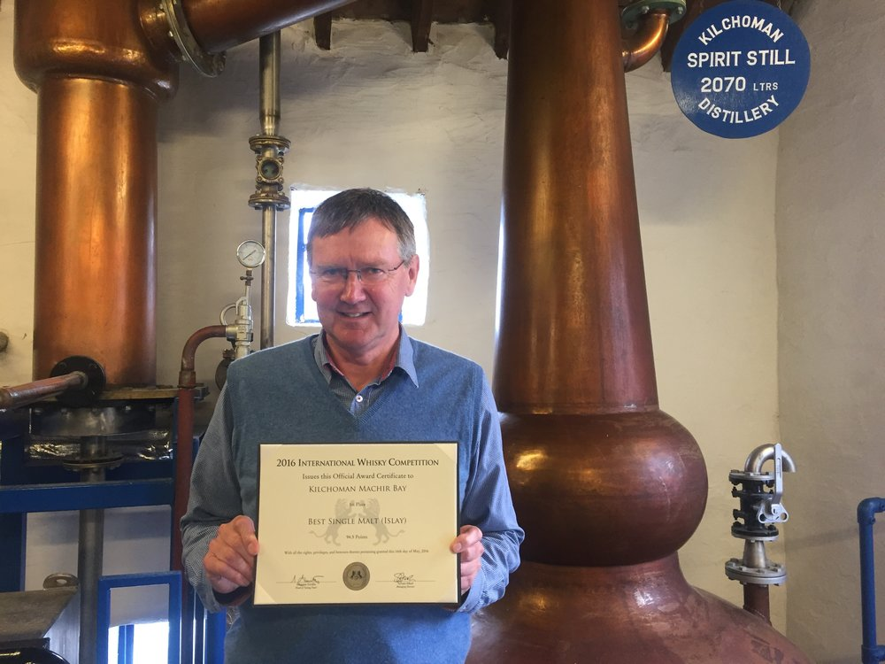 Anthony Wills, Master Distiller at Kilchoman Distillery