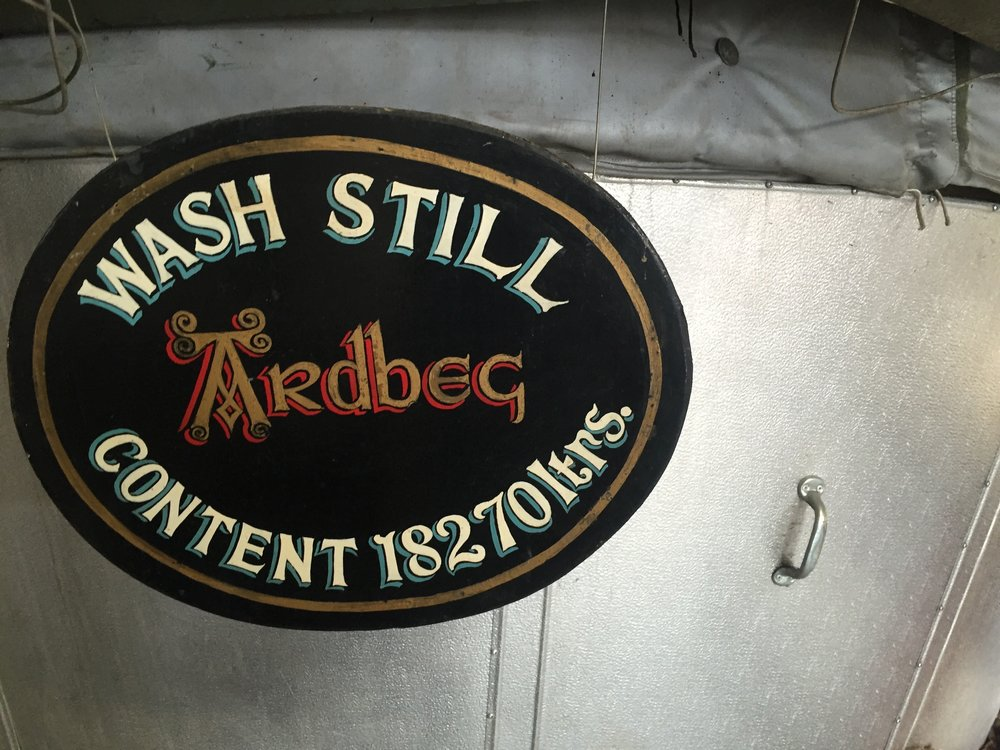 Ardbeg Wash Still