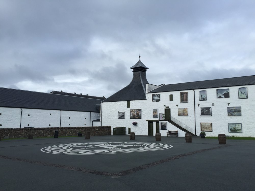 Ardbeg under the Clouds