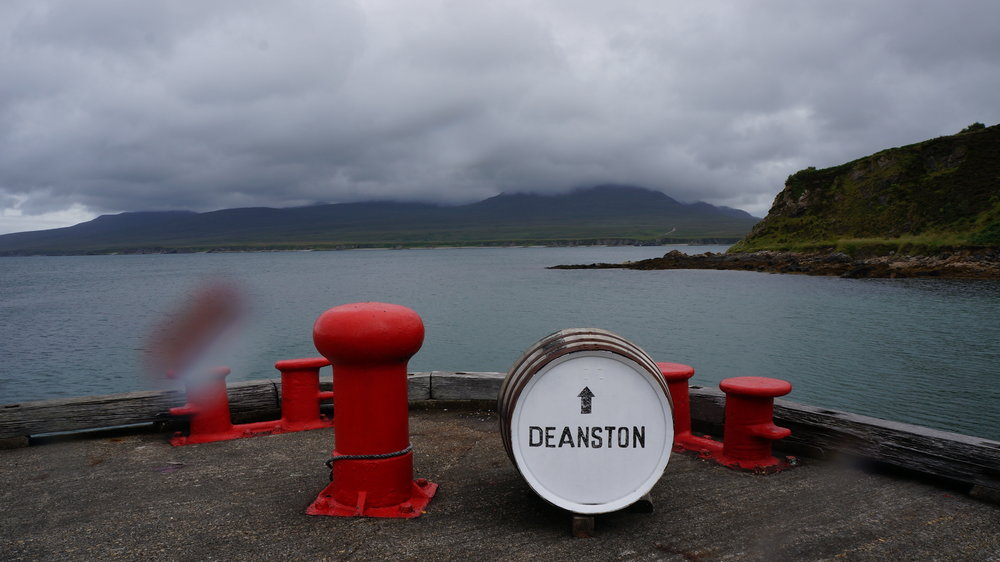 Deanston Barrel on Islay Port