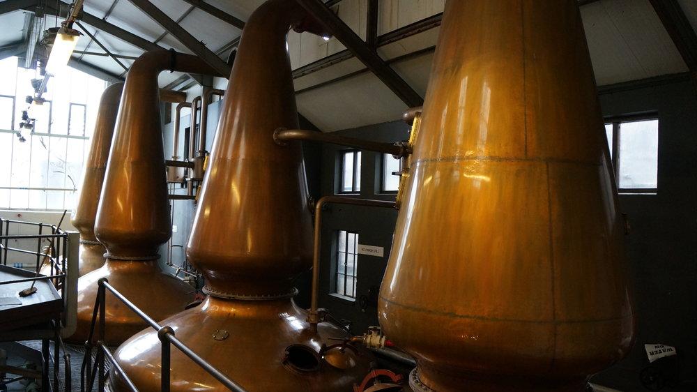 Jura Distillery- Stills