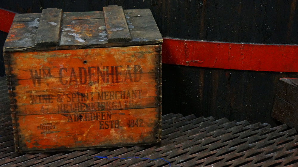Old Cadenhead's  Cases