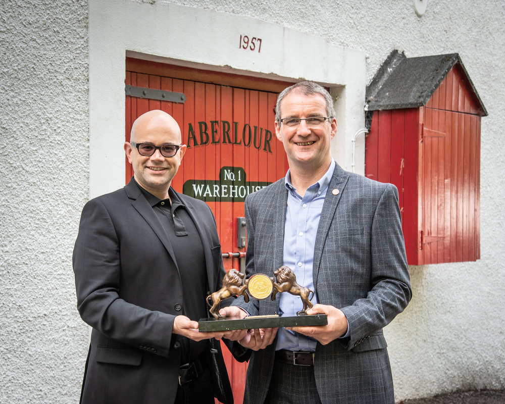 At Aberlour Warehouse No. 1