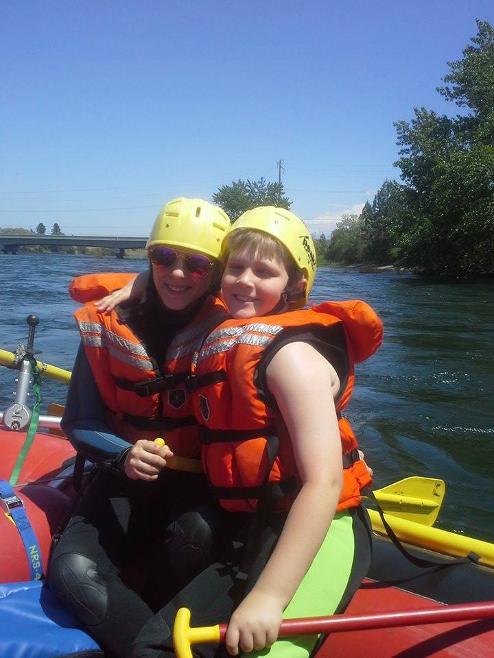 Last year, families were challenged and thrilled by their rafting experience!