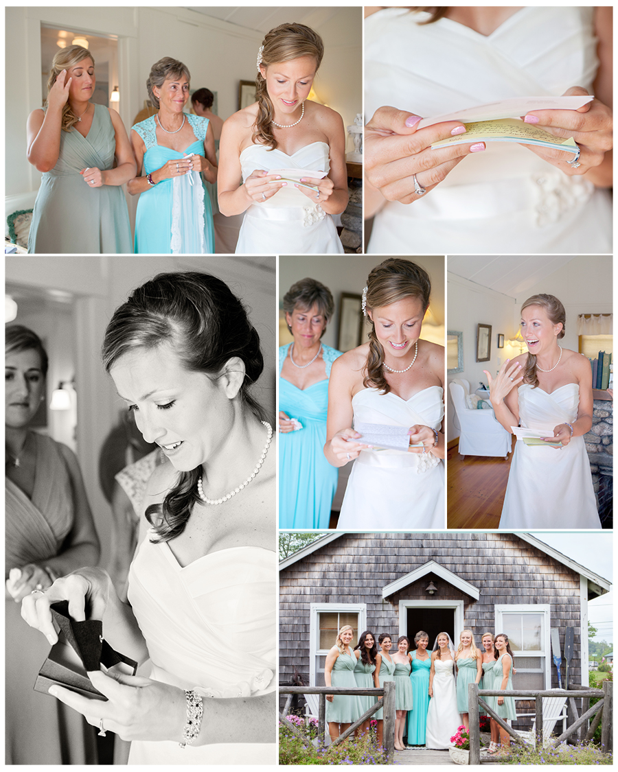 Maine Wedding Photographer grooms gift to his bride.jpg