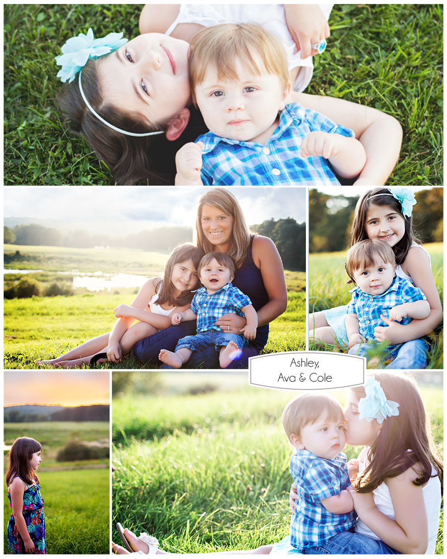 Maine Family Photography siblings summer evening sunset.jpg
