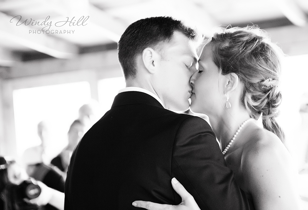 Maine Wedding Photographer First Kiss First Dance The Contented Sole.jpg