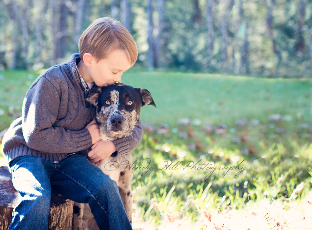 Maine Family Photographer boy and his dog.jpg