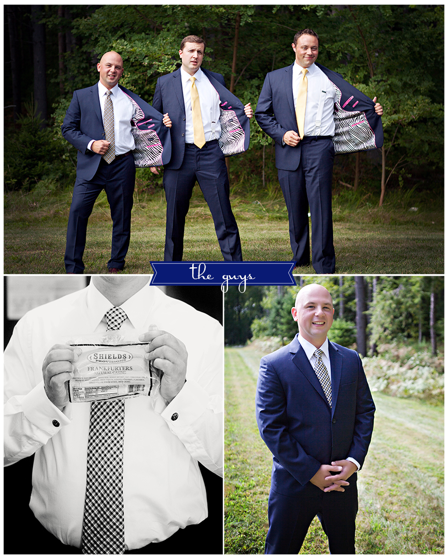 Maine Wedding Photographer the guys zebra suits hot pink hot dogs.jpg