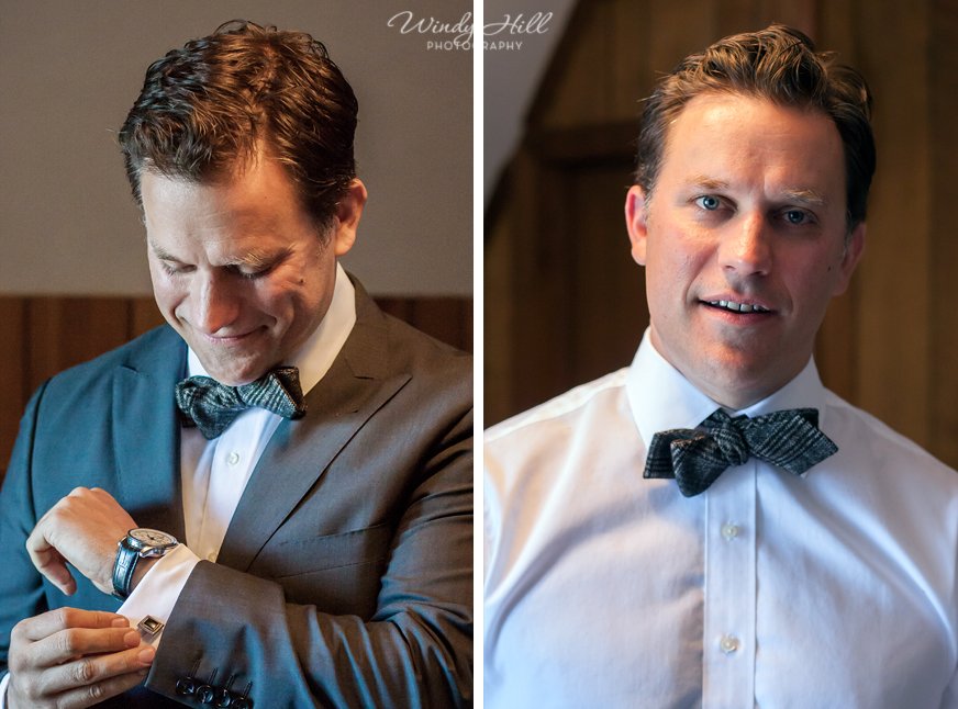 Love the bow tie!