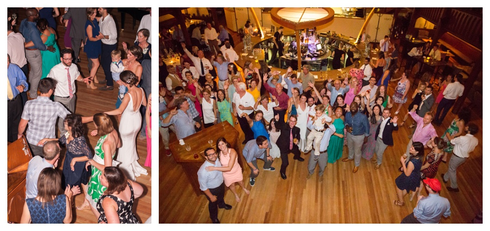 Maine Wedding Photography reception Grace Restaurant dancing