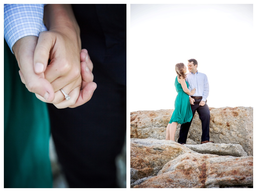 Maine wedding photographer engagement photos ring.jpg