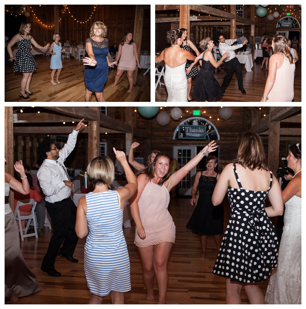 So much fun! I love when a dance floor is really rocking!