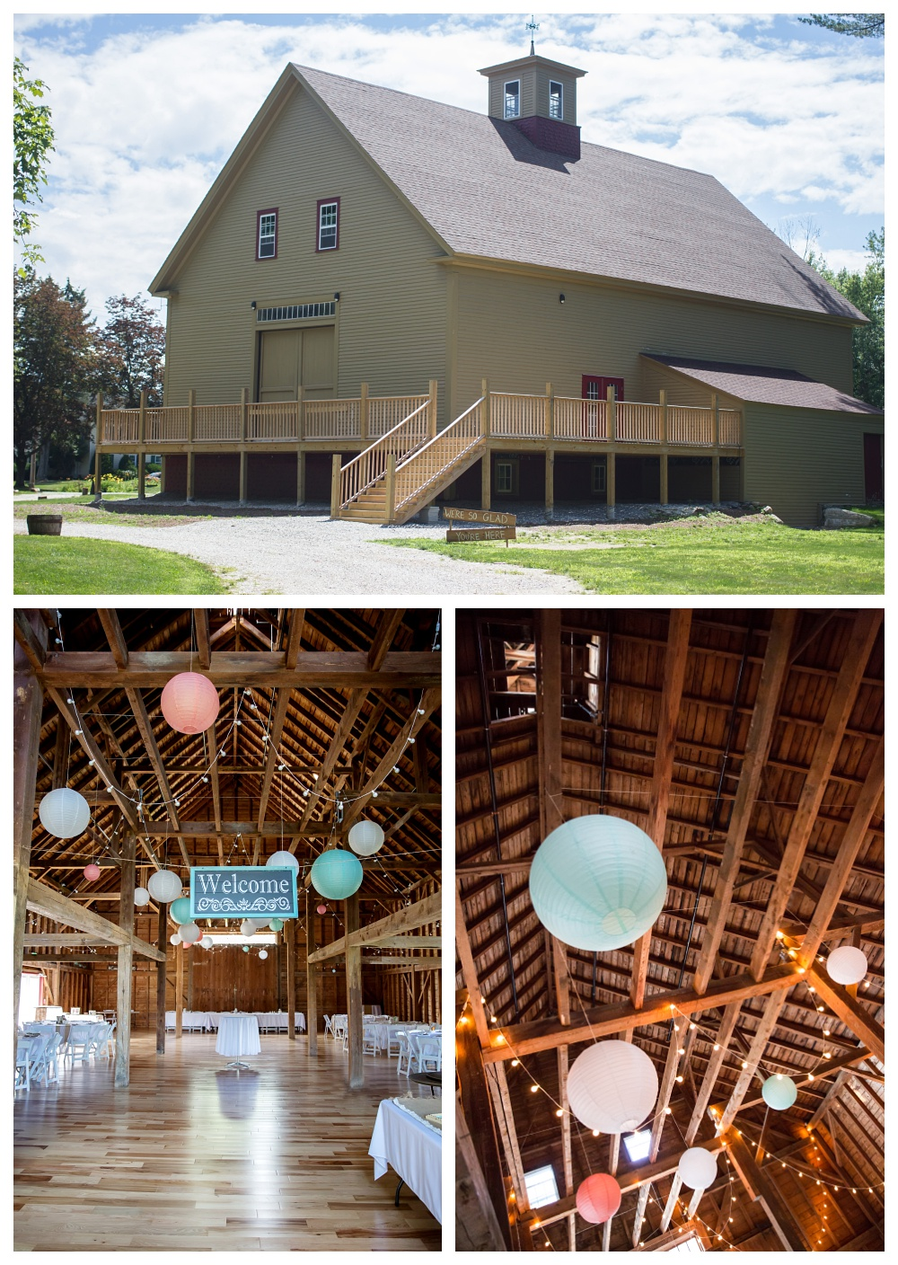 Maine Wedding Photographer Barn Venue 1888 Barn Sunday River