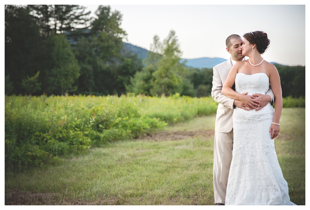 Maine Wedding Photographer Bethel bride and groom portraits