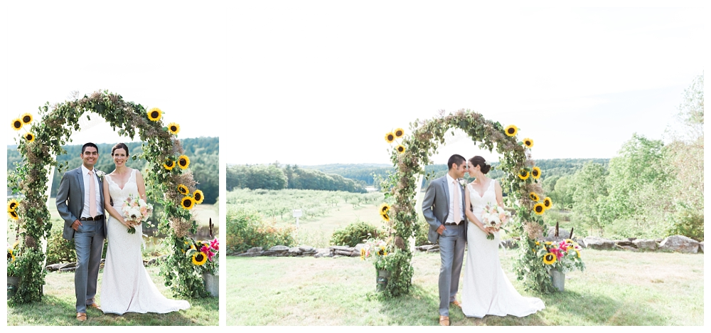 Maine Wedding Photographer Clarks Cove Apple Orchard