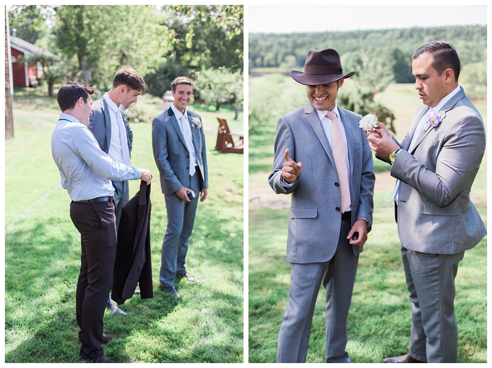 Maine Wedding Photography Walpole ME Clarks Cove Farm Orchard Guys
