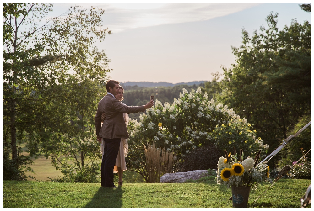 Maine Wedding Photographer Clark's Cove Farm & Inn Sunset guests