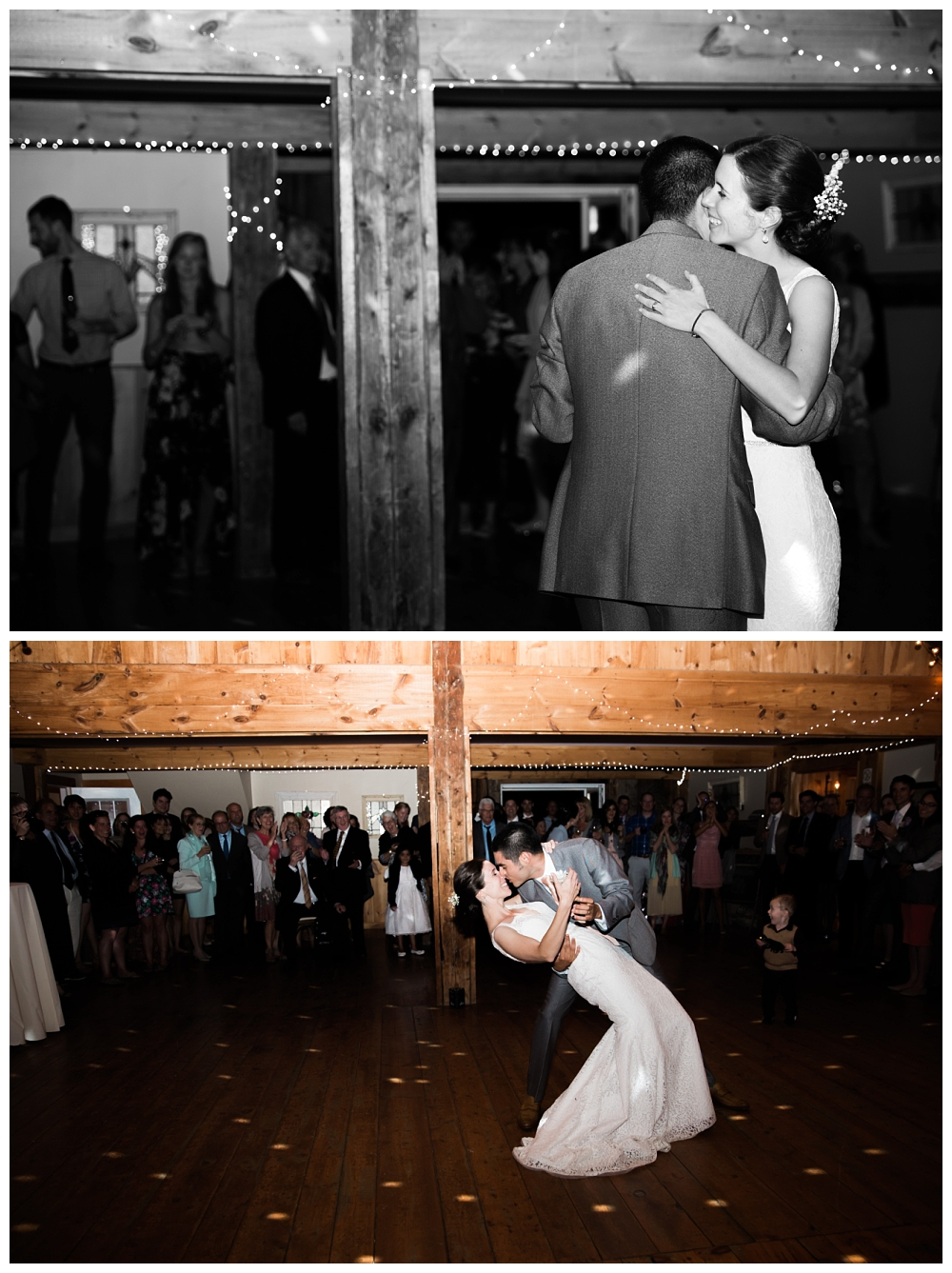 Maine Wedding Photographer Clark's Cove Farm & Inn first dance