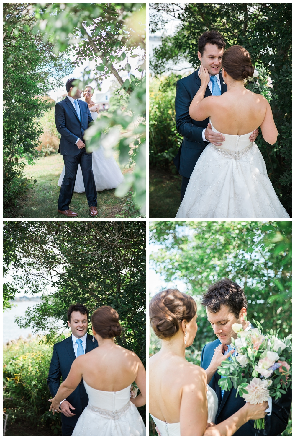 Maine Wedding Photographer First Look