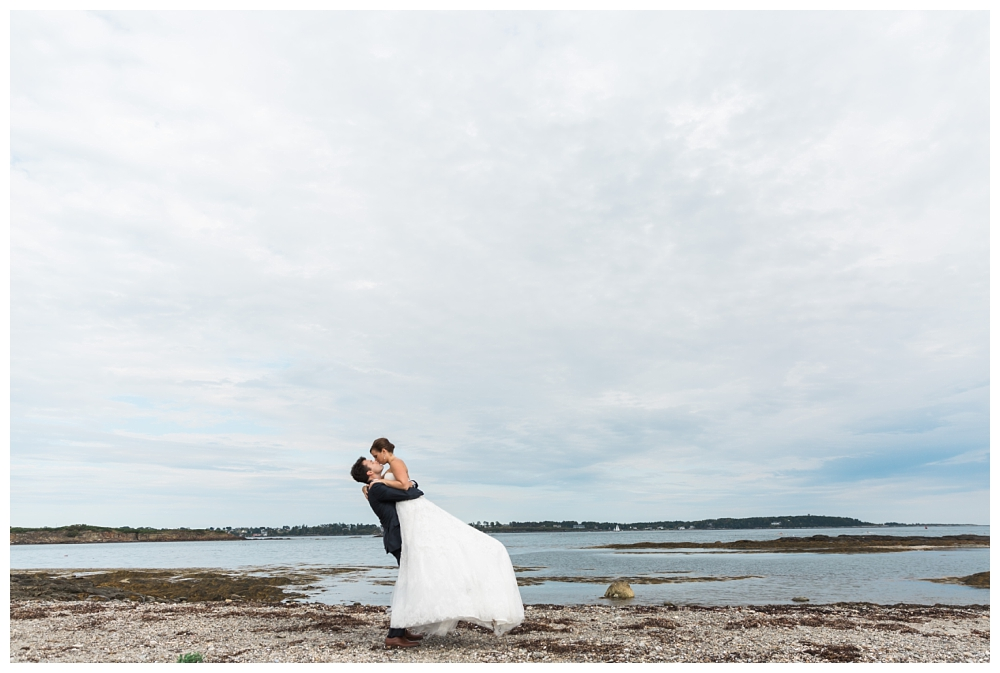 Maine Wedding Photographer Bridal Portraits Harpswell