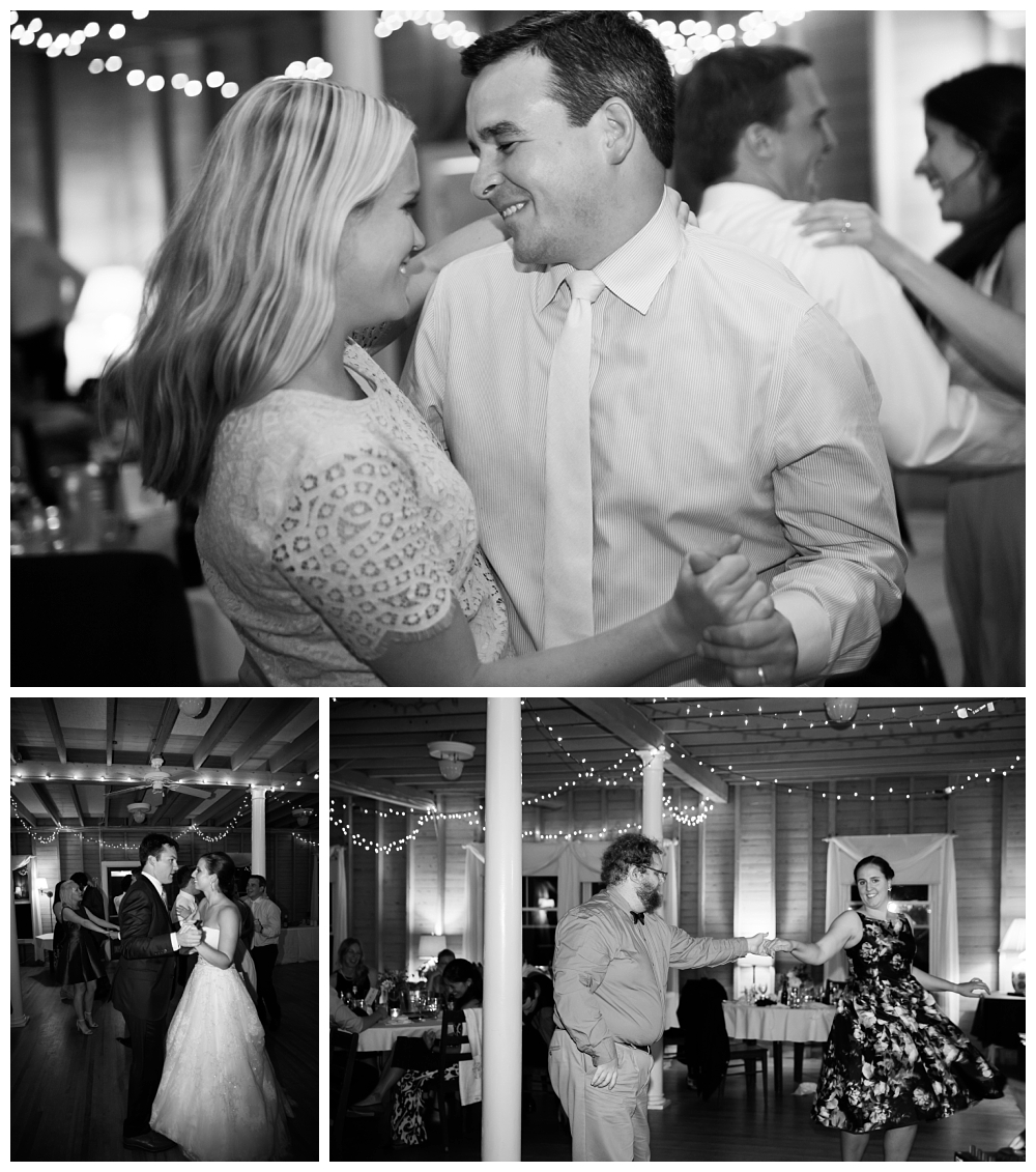 Maine Wedding Photographer Reception Dancing Harpswell