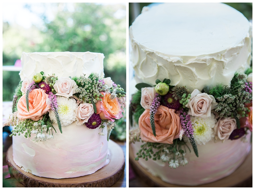 Maine Wedding Photographer The Bradley Inn New Harbor Cake