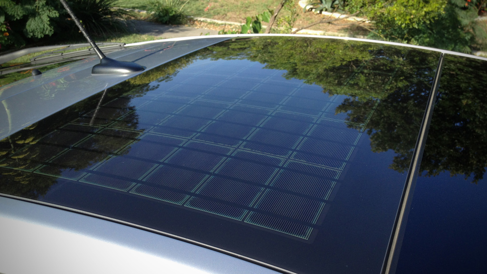 The solar roof on my Prius is awesome.  And yes, I am a nerd.