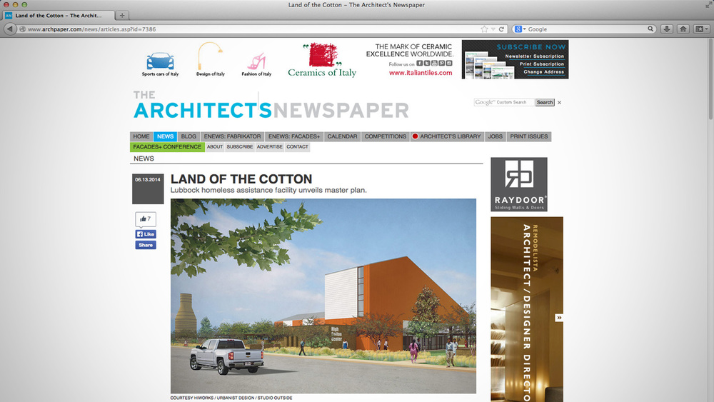 screen shoot courtesy The Architect's Newspaper