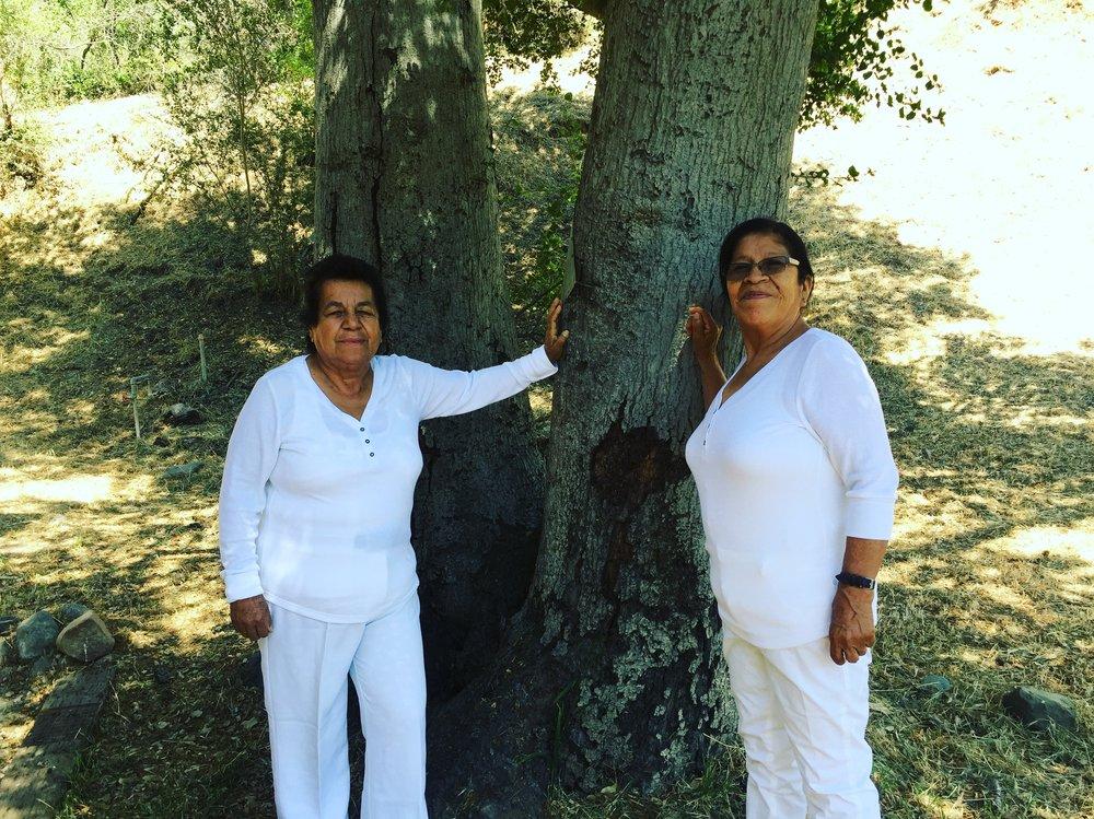 Doña Olinda and Doña Ysabel, Topanga, CA, 2017