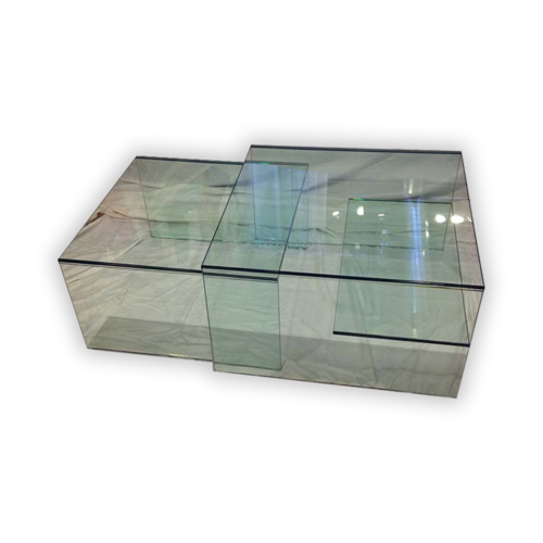 Glass Houses Nested Coffee Table