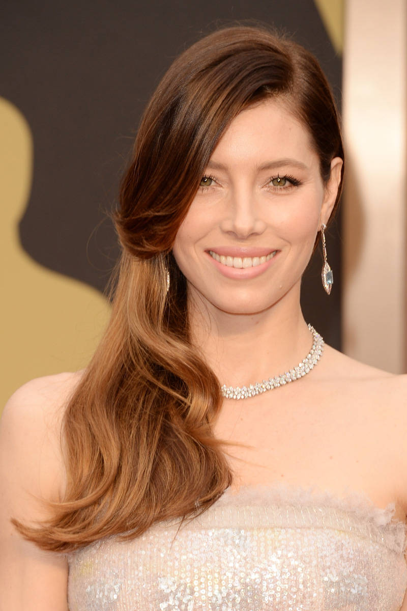 Jessica Biel in Tiffany & Co.