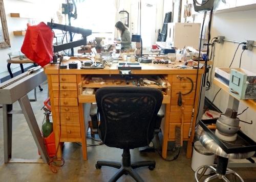 Studio deLuca jewelry studio