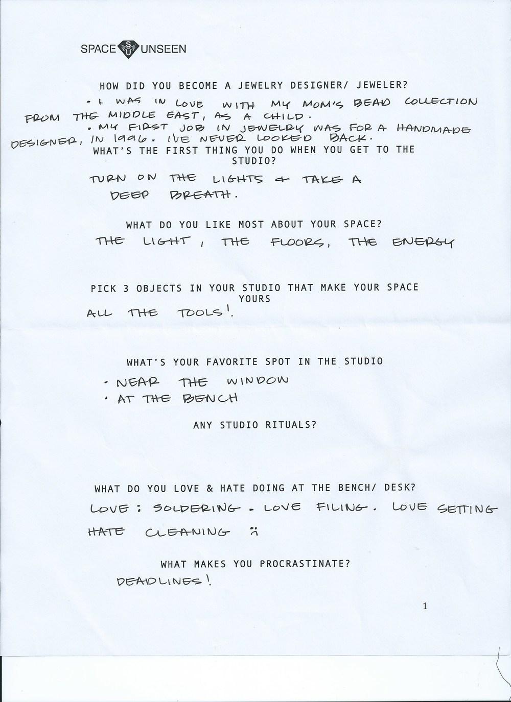 studio delucca questionnaire1