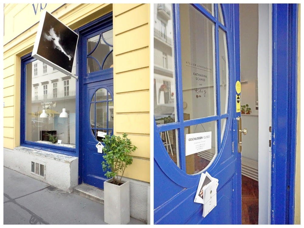 Katharina Schmid store and studio entrance