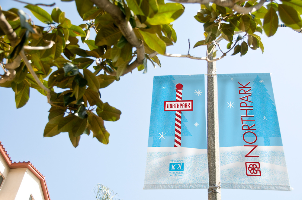 WRR street pole banners