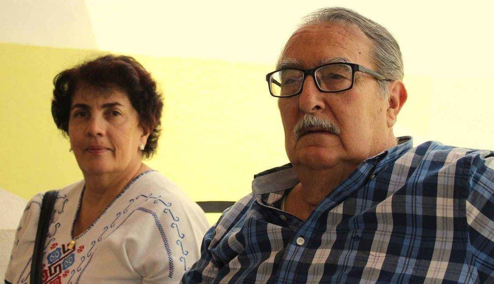 Mtra. Elena Alvarez y Arq. Salvador   Covarrubias