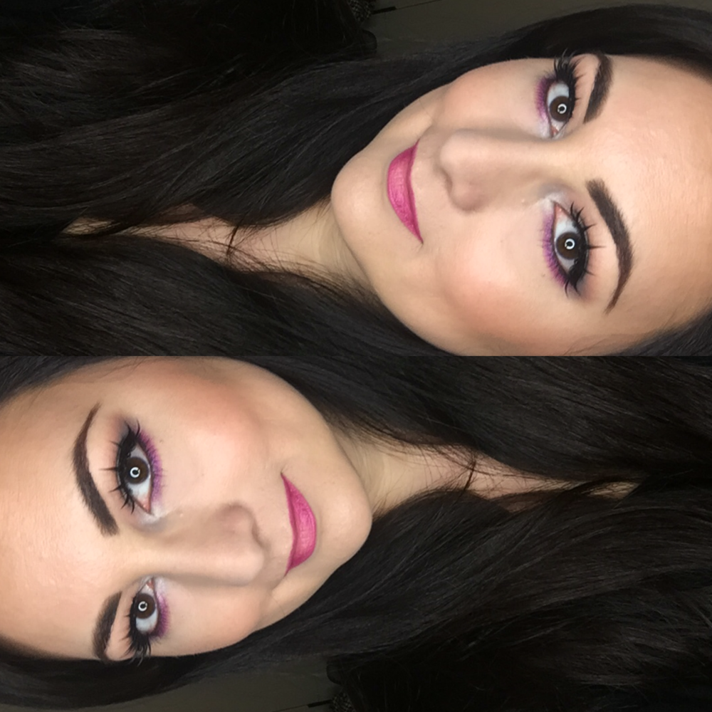 MOTD Purple & Pink Accents | #BeautyandtheDrink