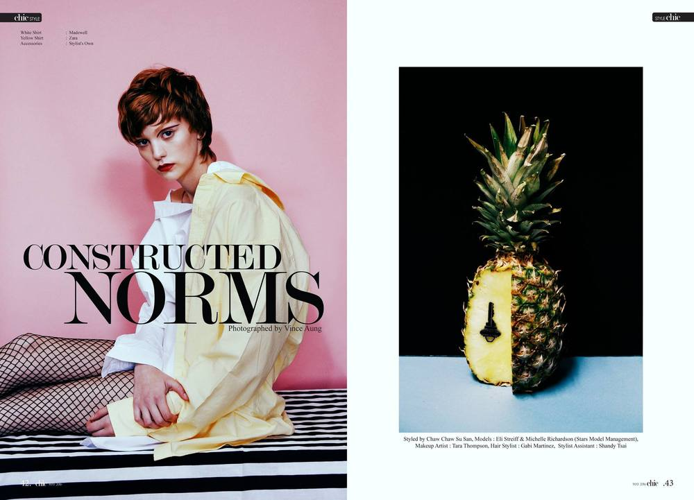 Constructed Norms - The Chic Magazine May 2016