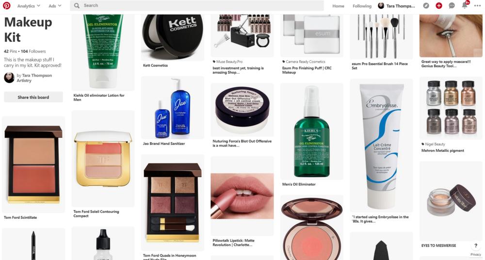 Taras Makeup Kit