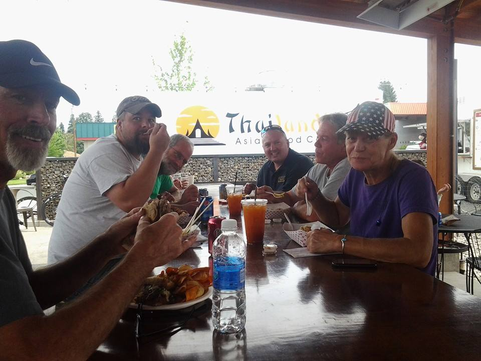 Lunch time at (The Lot) with the MTOW Crew