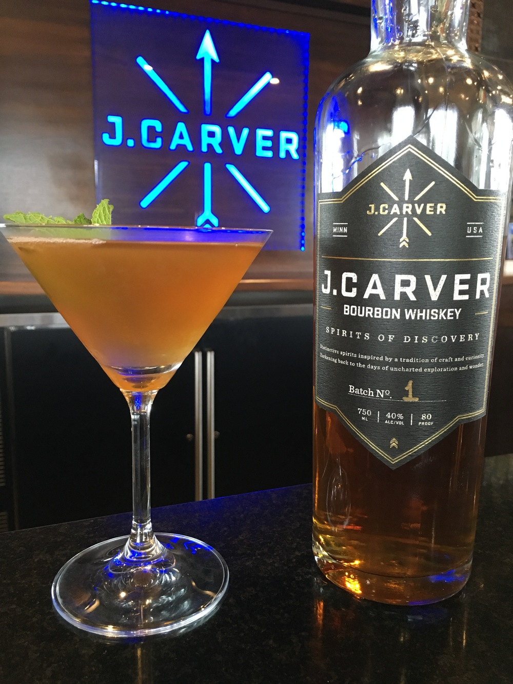 J. Carver Bourbon Whiskey Mint Julep #martinimonday