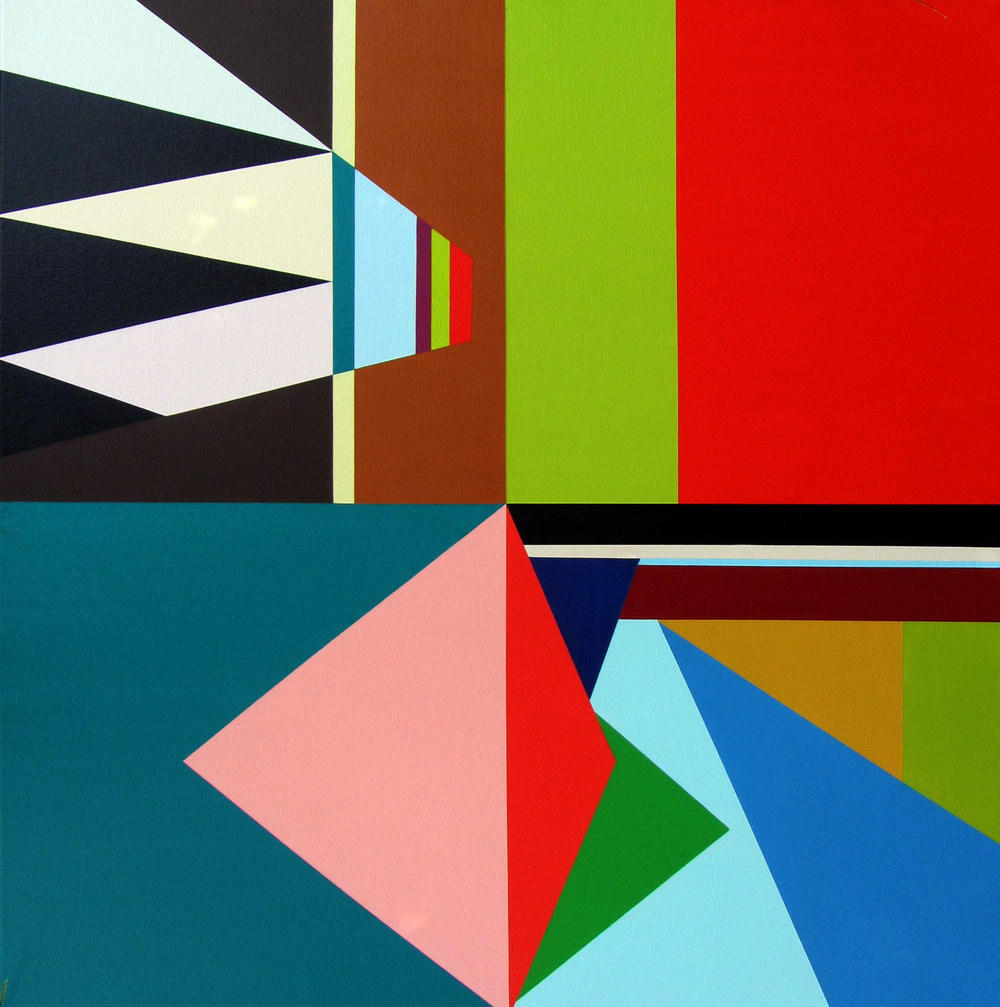 Contemporary Geometric Painting Christina Robinson